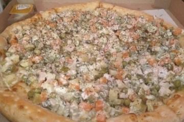 Пицца-оливье