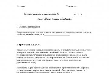 ТТК салата Оливье - страница 1