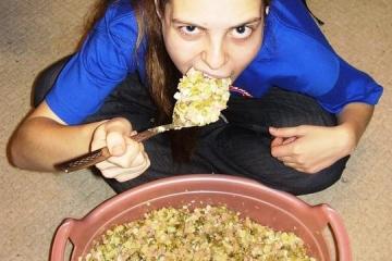 Тазик оливье - фото 10