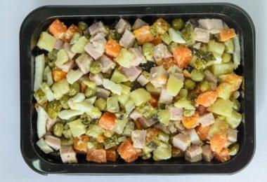 Можно ли замораживать оливье и как правильно делать заморозку салата
