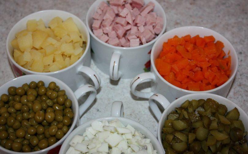 Советы по быстрому приготовлению салата оливье