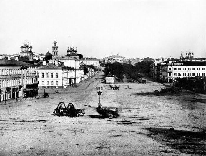 Трубная площадь в 1880-е годы