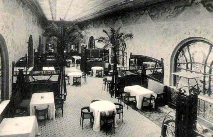 Один из залов ресторана «Эрмитаж»