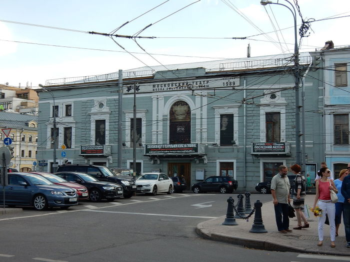 Современное фото фасада ресторана «Эрмитаж»