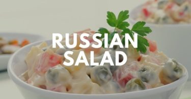 «Russian Salad» - так салат Оливье называют в мире