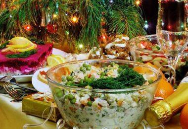 Россияне назвали Оливье главным праздничным блюдом